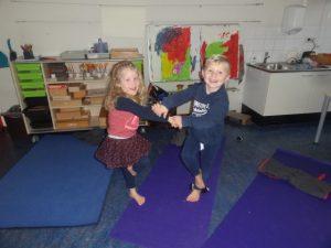 yoga atelier op OBS JH Dunant 9 november
